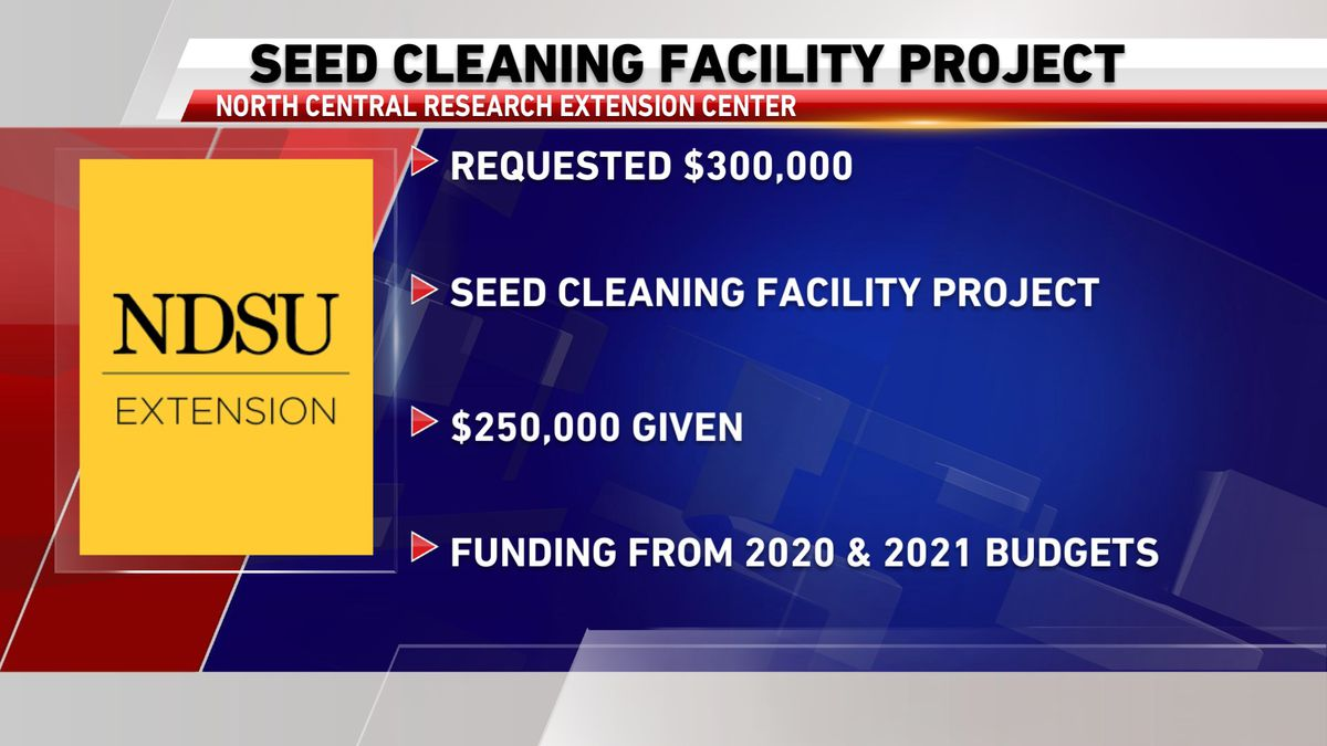 Seed cleaning facility project