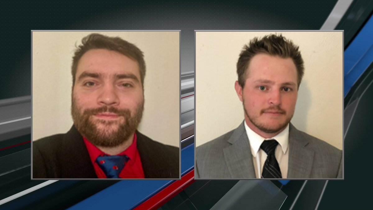 Minot Minotauros added alumni players (left) Darren Banks and (right) Jake Howie as assistant...