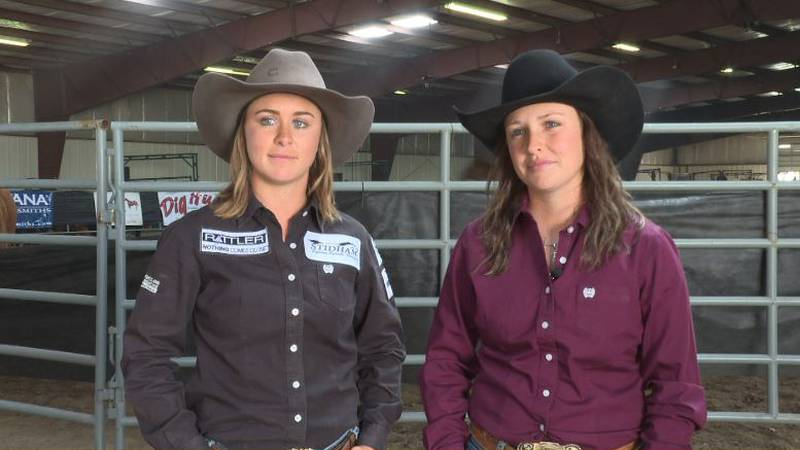 Rickie and Taylor Engesser — Spearfish rodeo sisters