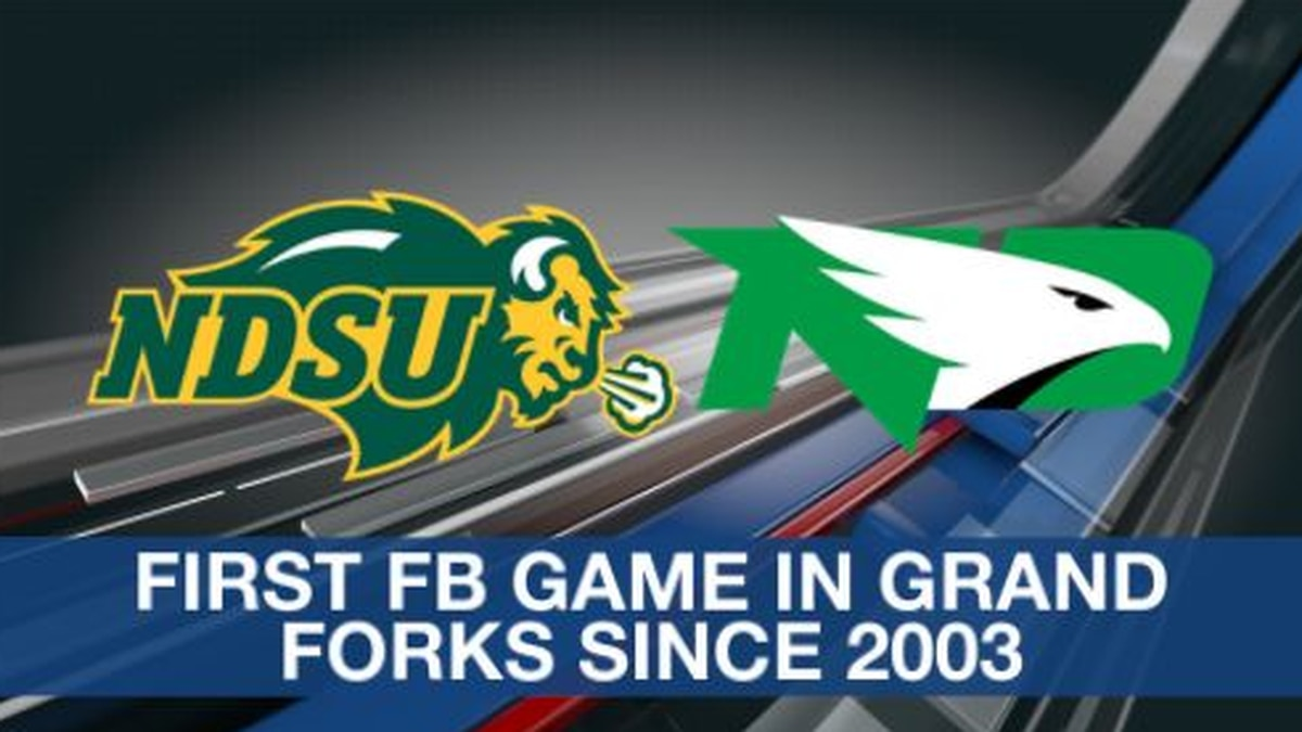 First football game in grand forks since 2003 UND NDST