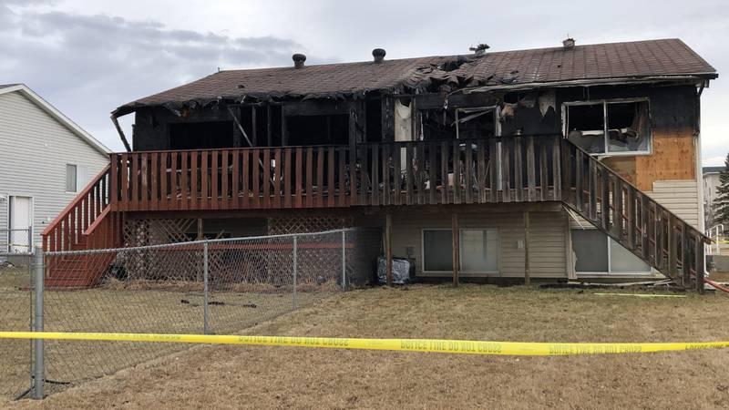 Fargo house fire