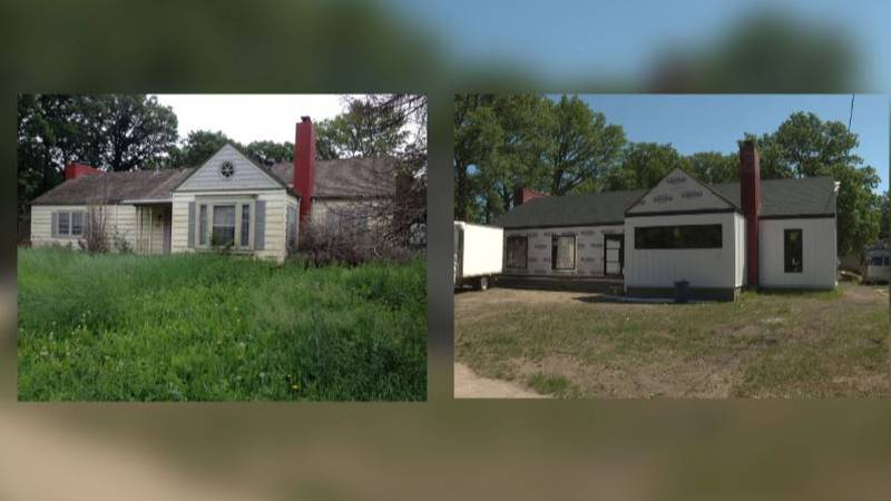 Blighted homes in Minot