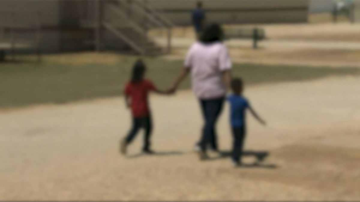 More parents and children were held in the three centers this month than last month, according to government data.