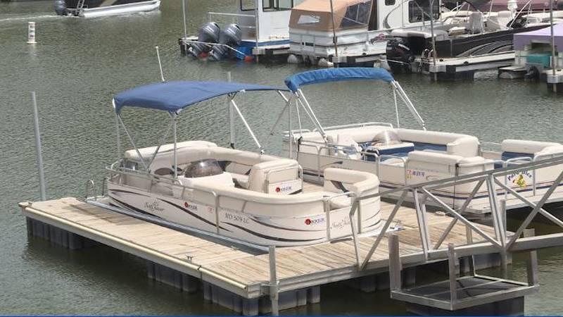 Dockside LLC pontoons