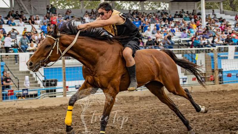 Bareback horseracing