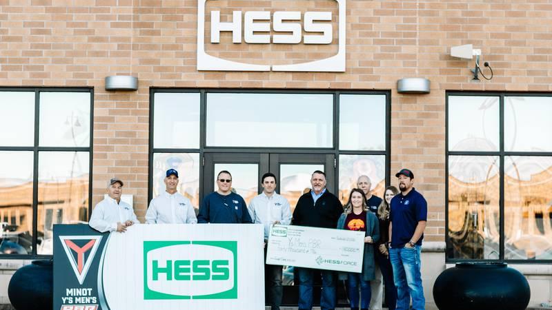 Hess donates $40,000