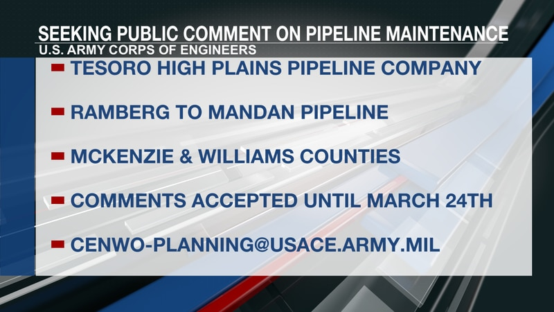 Pipeline maintenance comment