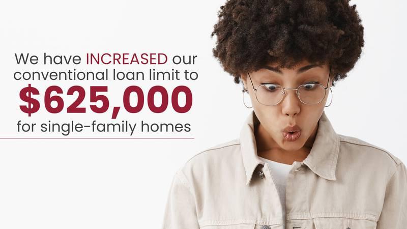Geneva Financial Home Loans Announces Higher Conforming Loan Limits