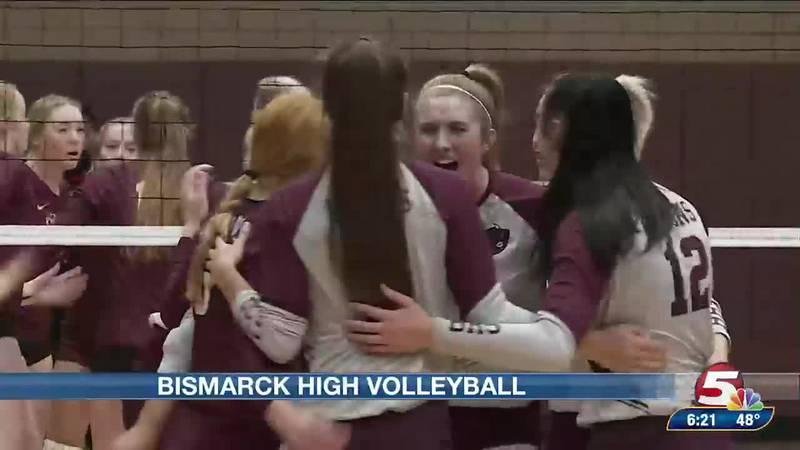 Bismarck high volleyball