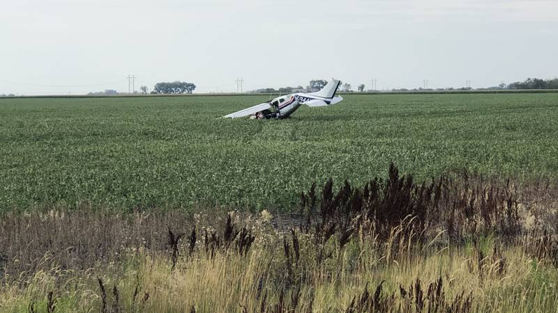 A pilot is trapped with unknown injuries