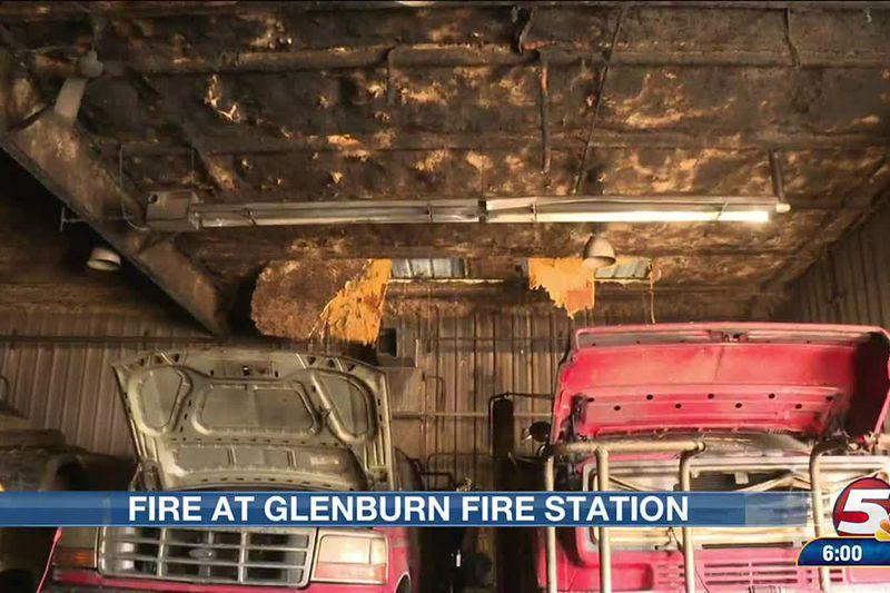 Fire at Glenburn Fire Hall