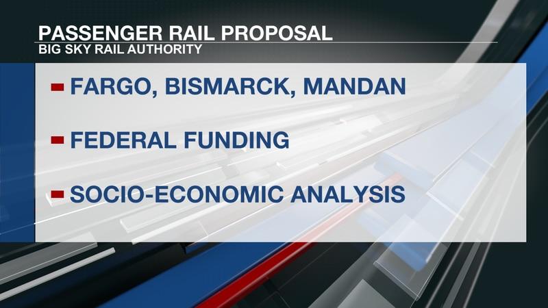 passenger rail ND