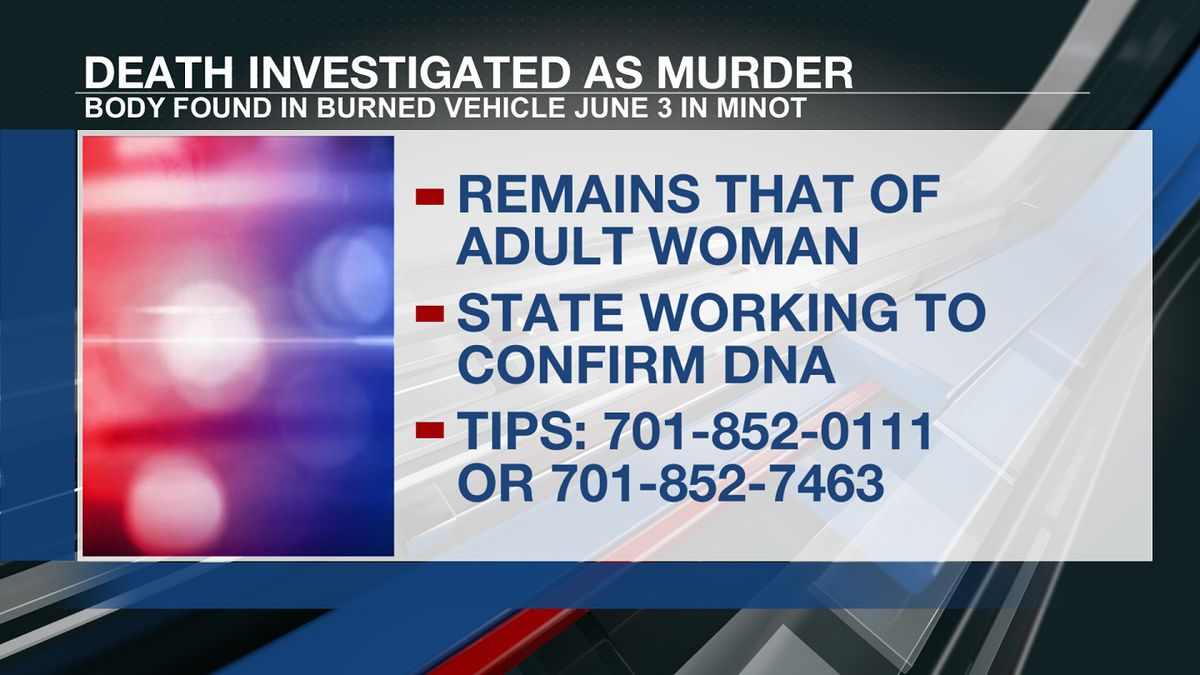 Police said they are working with the Forensic Examiner's Office and the State Crime Lab to...