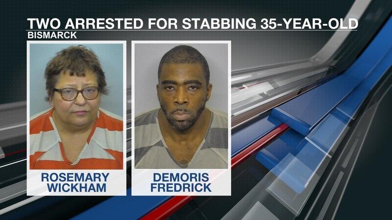 Rosemary Wickham and Demoris Fredrick