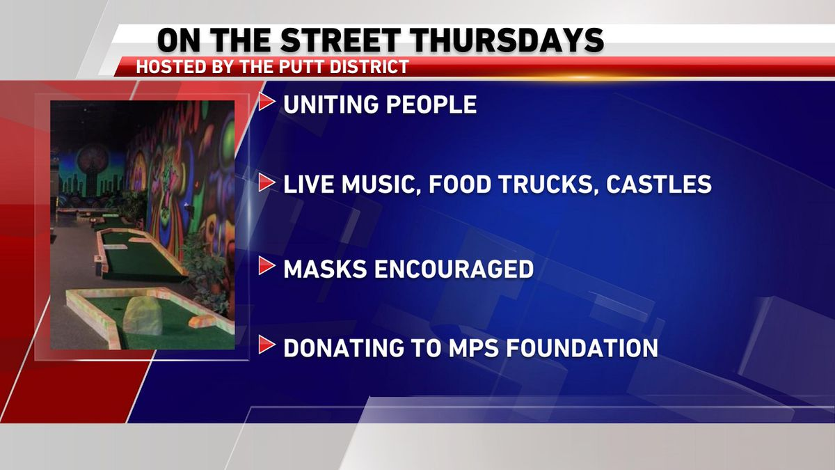 "The Putt District kicks off ""On the Street Thursdays"" in Minot"