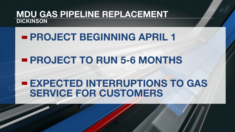 MDU Gas Pipeline Replacement
