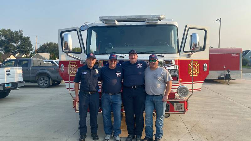 Williston firefighters traveling to help communities affected by Hurricane Ida