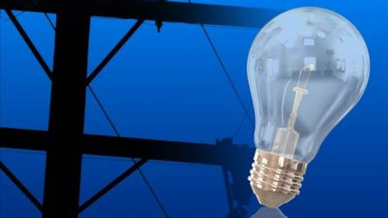 Power outage in Williston