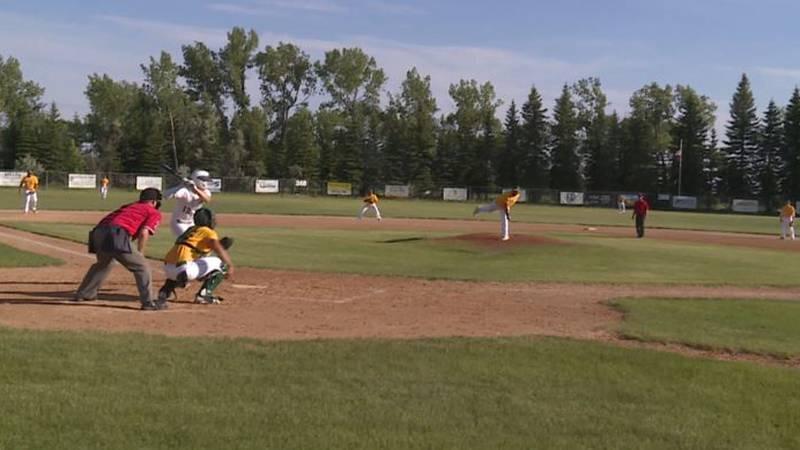 Baseball at Richardson Field in Lansford Wednesday