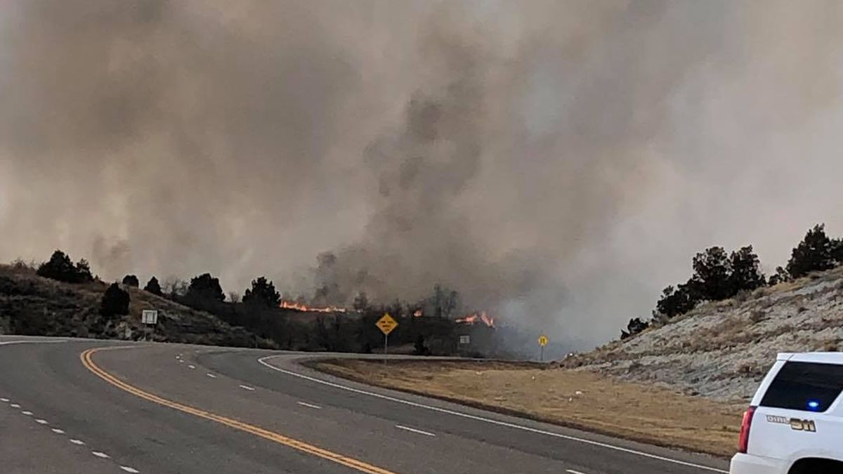 Theodore Roosevelt National Park fire