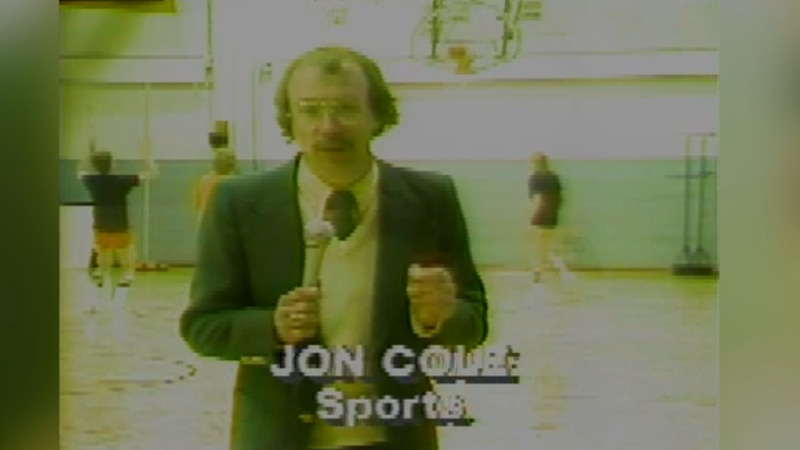 Jon Cole has become a state icon for sports coverage.