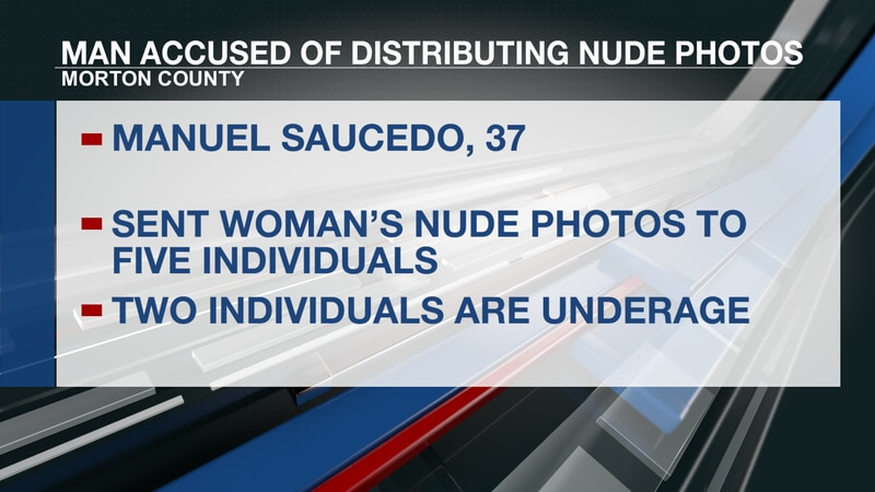 Man accused of distributing naked images of woman without consent