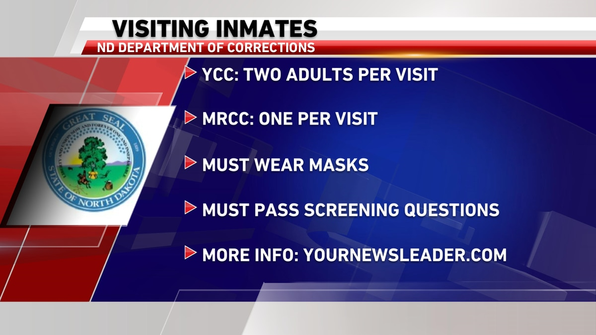 The ND Department of Corrections and Rehabilitation is slowly starting to let people visit inmates by hosting outdoor meetings.