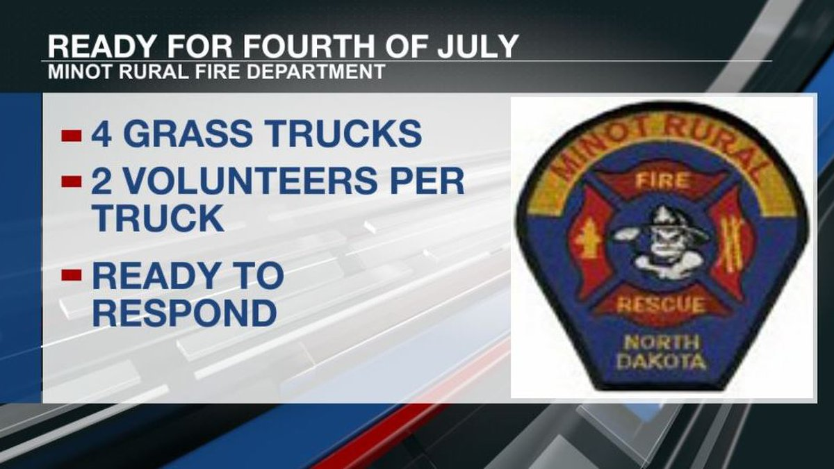 Minot Rural Fire ready for holiday weekend