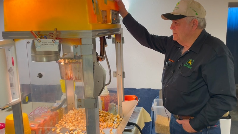 Jerry Zimmerman has been popping up perfect batches of popcorn in the basement of his home near...
