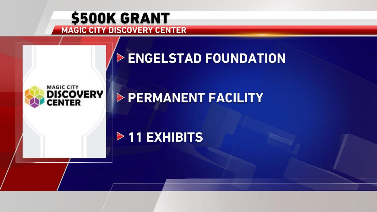 The Engelstad Foundation awarded $500,000 to the Magic City Discovery Center for its new...