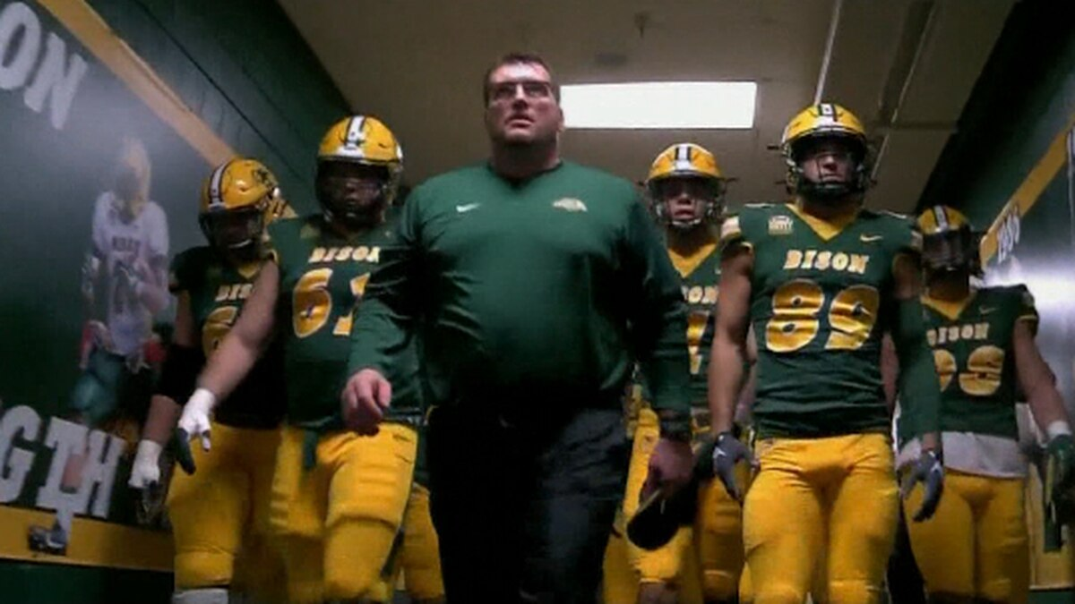 The Bison Football team