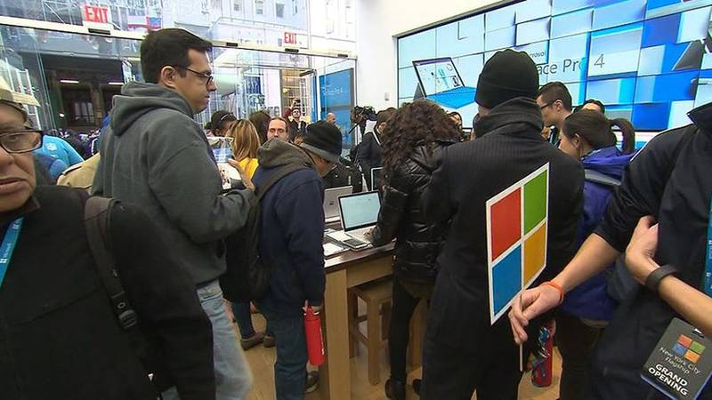 Microsoft announced Friday that it is closing all of its 83 physical stores and switching to...