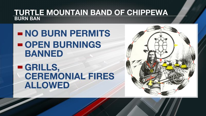 Burn Ban approved for Turtle Mountain Reservation