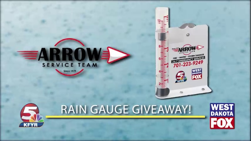Arrow Service Team Rain Gauge