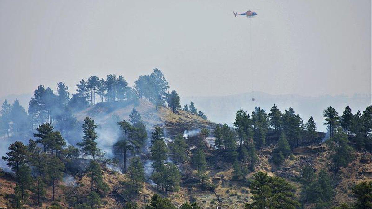 Devils Creek Fire