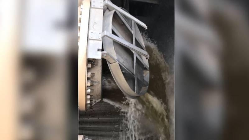 Broadway storm water pump station