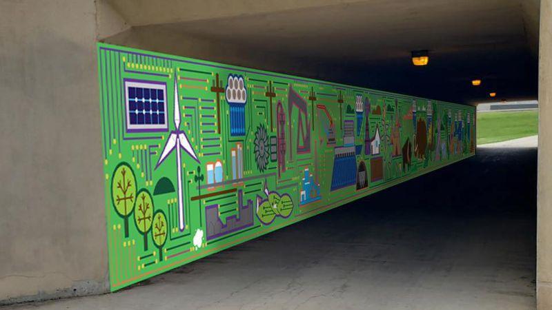 The Heritage Art Tunnel