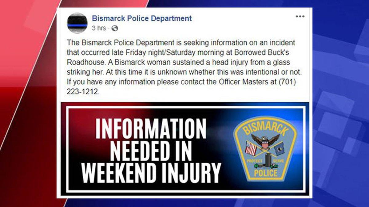 Photo Courtesy: Bismarck Police Department Facebook Page