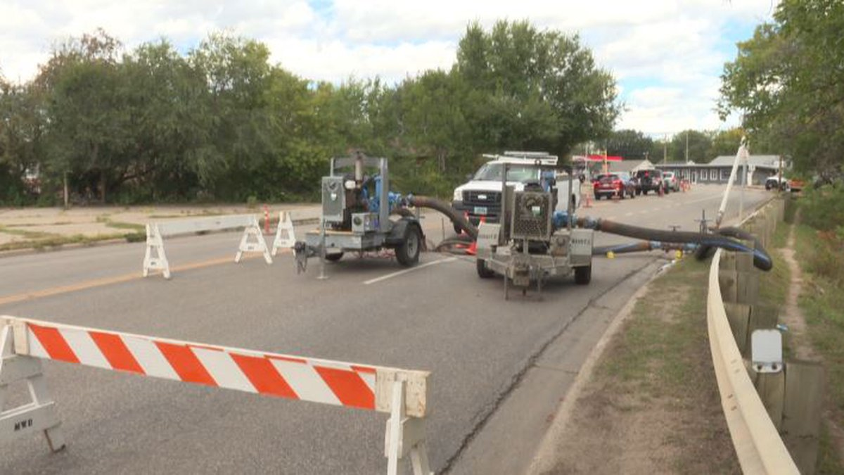Work on lift station in Minot
