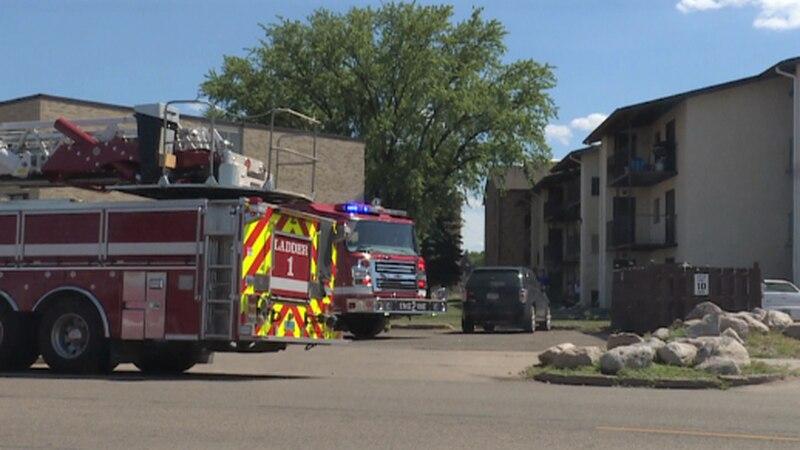 Bismarck Apartment Fire on East Arbor Avenue