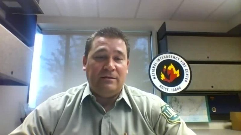"National Interagency Fire Center's Stanton Florea discusses ""If You Fly, We Can't"" campaign"