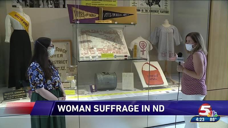 Woman Suffrage in North Dakota