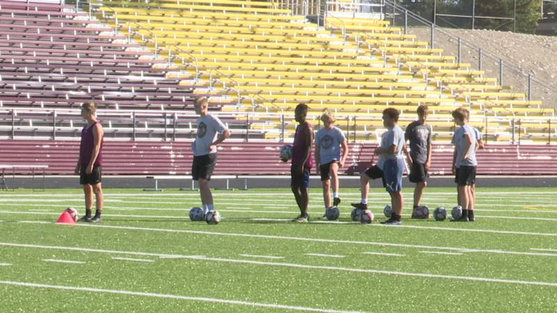 Minot Boys Soccer clinched the regular season title, topped the regional tournament, and...