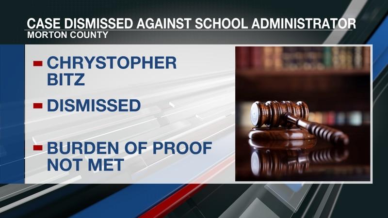 Judge dismisses child abuse case against Mandan school administrator