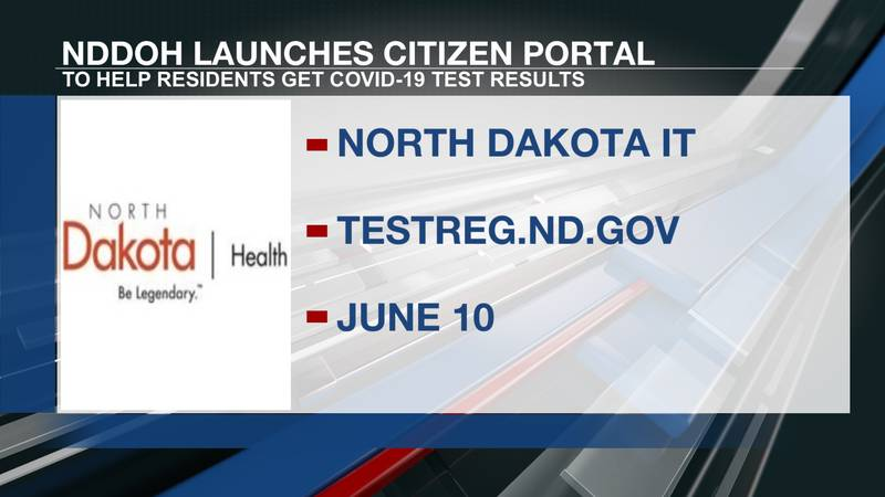 North Dakotans can now access their COVID-19 test results through a new Citizen Portal.