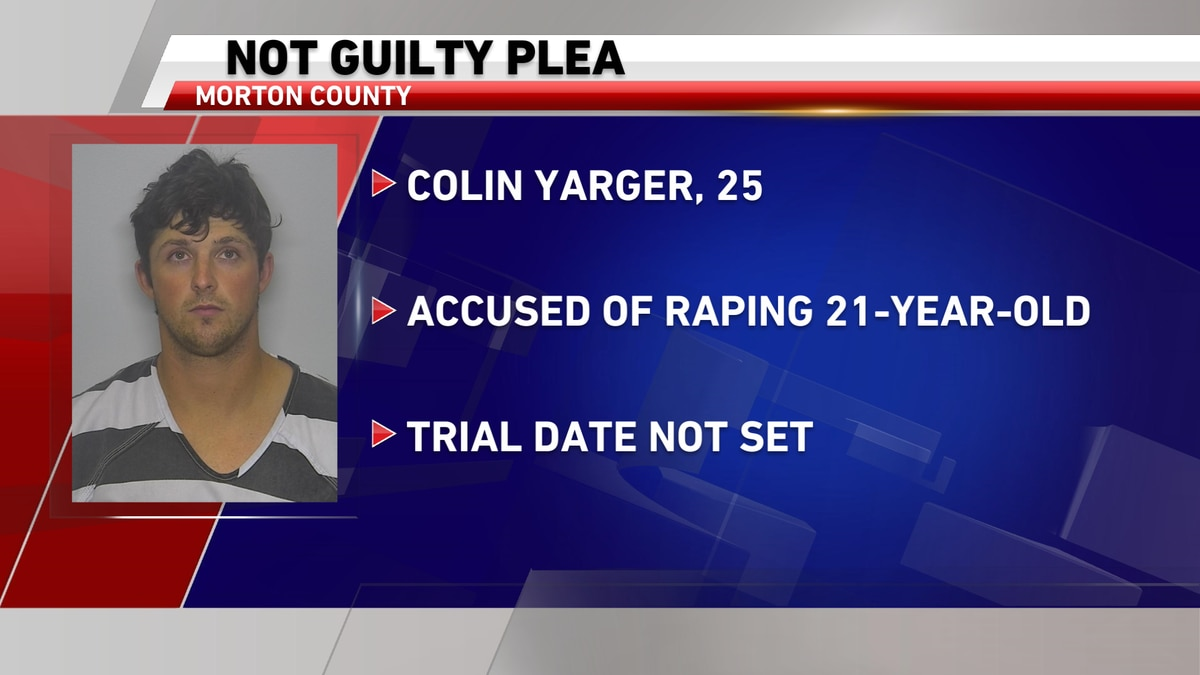 Detectives say Colin Yarger met a 21-year-old victim at a bar in Bismarck and took her to a...