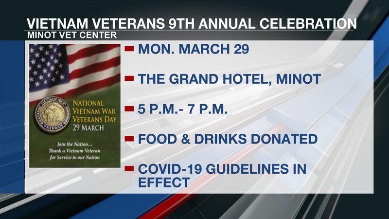 Vietnam veterans celebration
