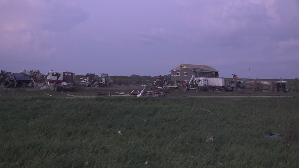 Authorities confirm one death from a tornado in Otter Tail County, MN