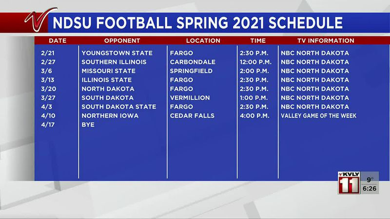 Sports - MVFC rereleases 2021 spring schedule