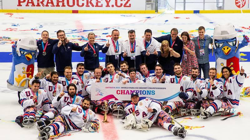 USA sled hockey title